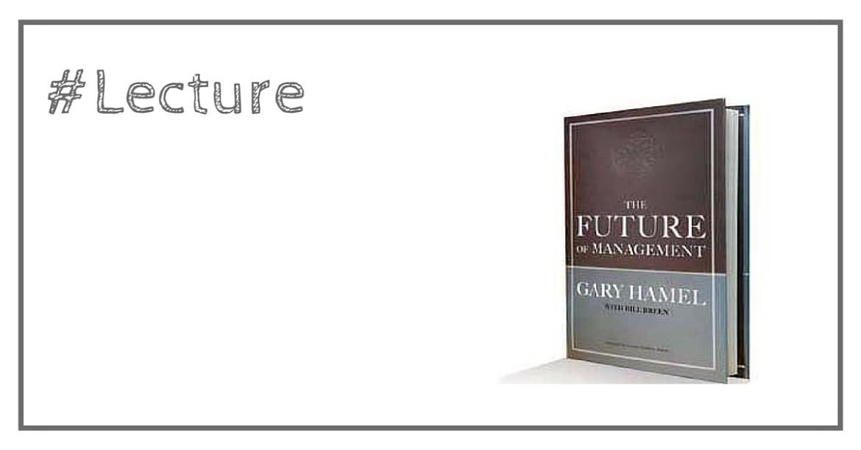 Le futur du management