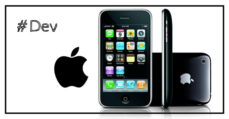 Application iPhone en mode paysage