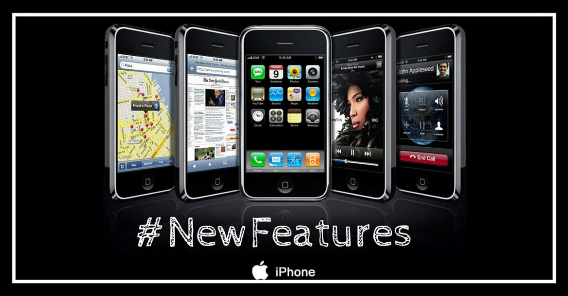 Keynote news : new iPhone and really improved features !
