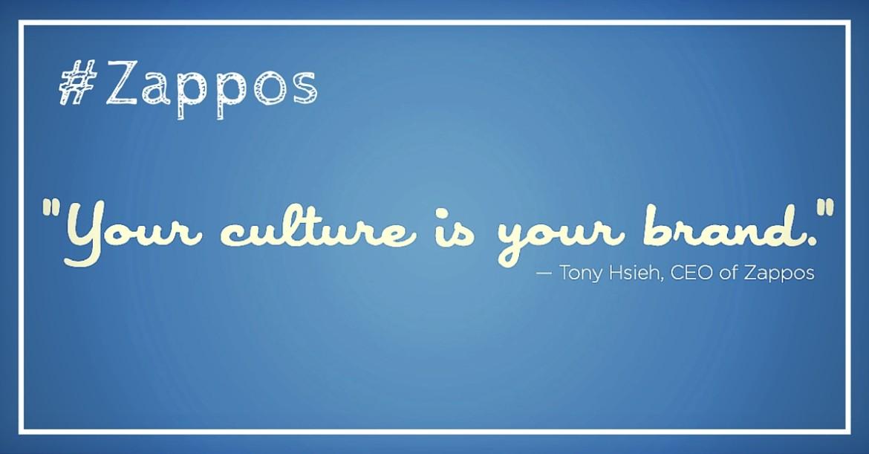 Une culture d'entreprise exceptionnelle – Zappos