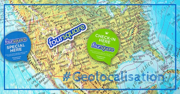 Foursquare = twitter + geolocalisation