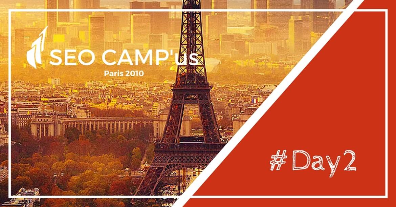 SEO Campus 2010 à Paris, Jour 2