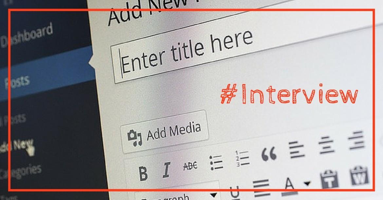Nouvo interview l'équipe de netinfluence : les blogs sont-ils mort ?