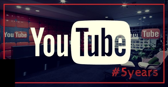 YouTube FIVE YEAR channel celebrates two billion video views per day!