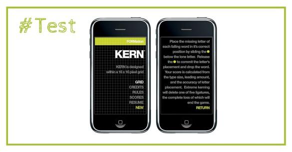 De la typographie sur l'iPhone