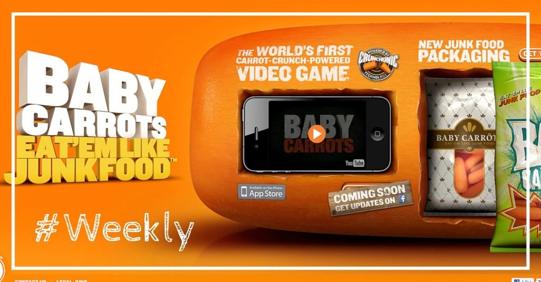 Baby Carrots, le nouveau Twitter, Greenpeace s'attaque à Facebook et plus dans notre Weekly Review n°10