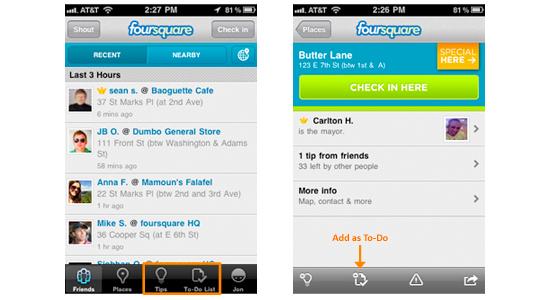 foursquare netinfluence