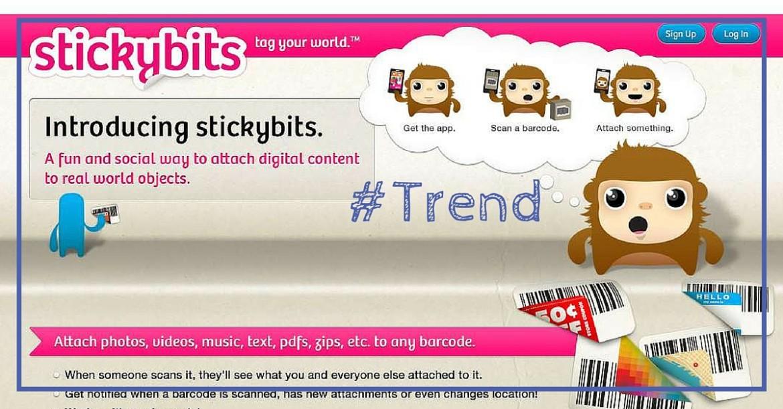 Avec Stickybits, vos produits deviennent interactifs!