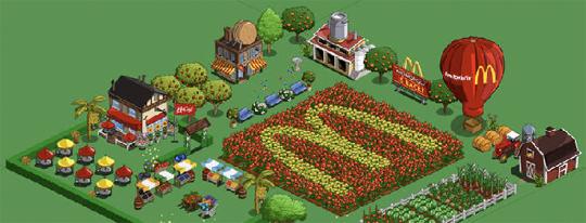 mcdonalds farmville netinfluence