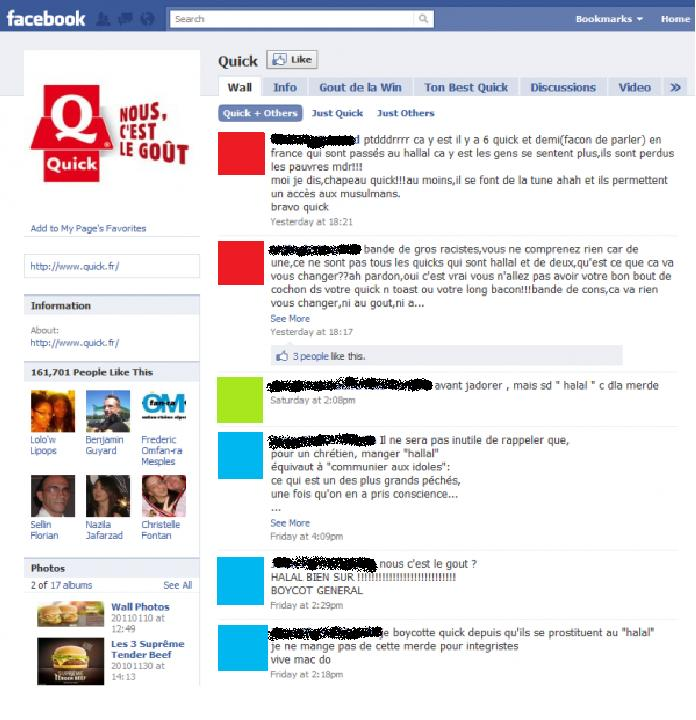 page facebook quick