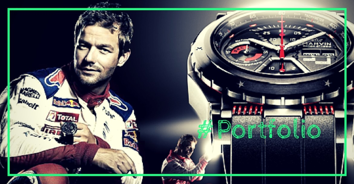 Case study: Influencer campaign for Marvin Watch C°1850′s special edition Sebastien Loeb reveal