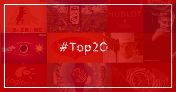 Le Top20 des marques suisses sur Facebook