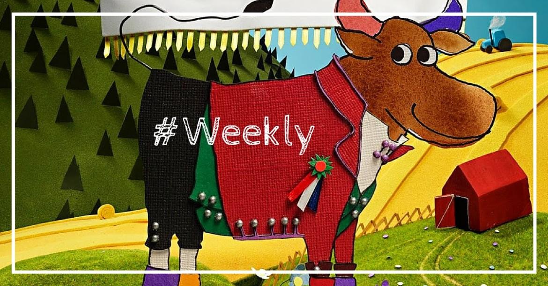 Les vaches qui tweetent, Diesel vous botte le cul, la dure semaine de Facebook et plus dans notre Weekly Review n°11