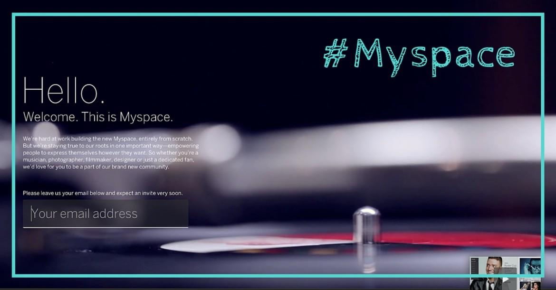 Myspace, ou le phoenix du web